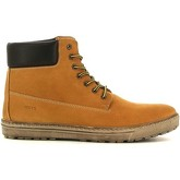 Keys  3054 Sneakers Man Yellow  men's Mid Boots in Yellow