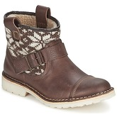 Casual Attitude  AMOR  women's Mid Boots in Brown