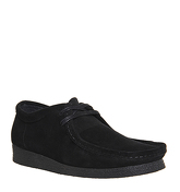 Ask the Missus Candid Apron Lace Up BLACK SUEDE BLACK SOLE