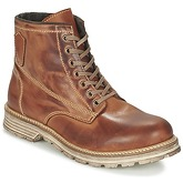 Casual Attitude  FIDAN  men's Mid Boots in Brown