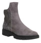 Gaimo for OFFICE Gabriella Ankle Boot GREY NUBUCK