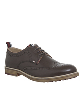Ben Sherman Charles Brogue BROWN LEATHER