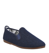Flossy Plimsole DENIM CANVAS