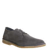 Office Fahrenheit Desert Shoe LIGHT GREY SUEDE