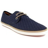 Peter Blade  Derby  Navy Blue Leather VALERA  men's Casual Shoes in Blue