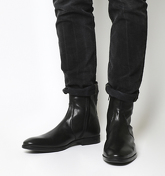Ask the Missus Gone High Zip Boot BLACK LEATHER