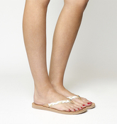 UGG Naive Flip Flop WHITE WALL