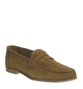 Office Fulham Penny Loafer RUST SUEDE