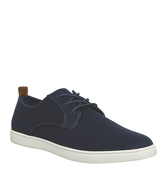 Office Fete Sneaker Lo NAVY CANVAS