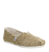 Toms Seasonal Classic Slip On BEIGE SPECKLED KNIT EXCLUSIVE
