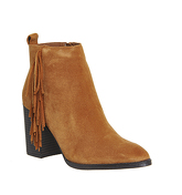 Office Jasper Fringed Boot TAN SUEDE
