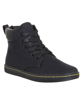 Dr. Martens Maelly Padded Collar Boot BLACK CANVAS