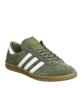 Adidas Hamburg KHAKI WHITE EXCLUSIVE