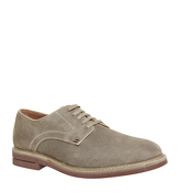 Ask the Missus Handy Derby BEIGE SUEDE
