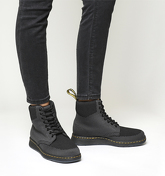 Dr. Martens Rigal Boots BLACK ANTHRACITE KNIT