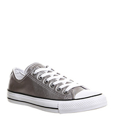 Converse All star Low Leather NEW SILVER EXCLUSIVE