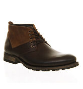 Ask the Missus Ambition Chukka boots BROWN LEATHER