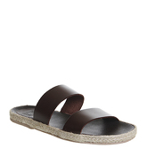 Ask the Missus Fergus Two Strap Sandal TAN LEATHER