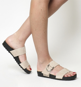 Vagabond Erie 2 Strap Footbed TOFFEE SUEDE