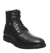 Office Lead Hiker BLACK LEATHER