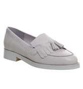 Office Extravaganza loafers LIGHT GREY LEATHER