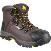 Amblers Safety  FS39  men's Mid Boots in Brown