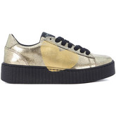 Nira Rubens  Sneaker  alabaster leather and golden heart  men's Shoes (Trainers) in Gold