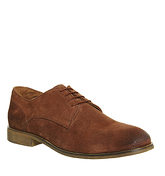 Ask the Missus Digital Lace Up CHESTNUT SUEDE