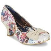 Irregular Choice  DAZZLE RAZZLE  women's Court Shoes in White