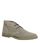 Office Fahrenheit Desert Boot GREY SUEDE