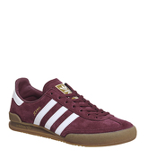 Adidas Jeans MAROON WHITE
