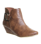 Blowfish Leighton Wedge Exclusive COFFEE OLD SADDLE