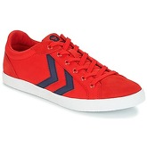 Hummel  DEUCE COURT SUMMER  men's Shoes (Trainers) in Red