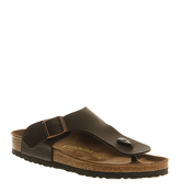 Birkenstock Ramses Thong Sandals DARK BROWN