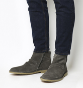 Ask the Missus Danish Zip Boot GREY SUEDE