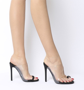 Ego Shape Toe Loop BLACK TRANSPARENT