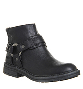 Blowfish Fab Strap Boots BLACK OLD SADDLE