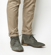 Office Greenwich Chukka GREY SUEDE
