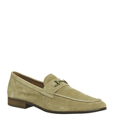 Ask the Missus Genius Snaffle Loafer BEIGE SUEDE