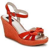 C.Petula  SUMMER  women's Sandals in Orange