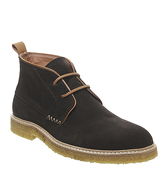 Poste Desert Boot DARK GREY SUEDE