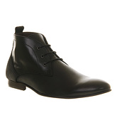 Ask the Missus Falcon Chukka boots BLACK LEATHER GREY SUEDE