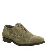 Ask the Missus Broadway Toe Cap KHAKI SUEDE