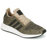 adidas  SWIFT RUN  men's Shoes (Trainers) in Gold