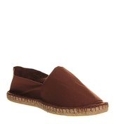 Office Solemate Espadrille BROWN CANVAS