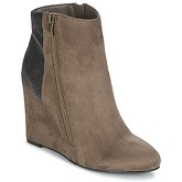 Moony Mood  FIKI  women's Low Ankle Boots in Brown