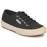 Superga  2750 COTU CLASSIC  men's Shoes (Trainers) in Black
