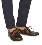Ask the Missus Deck Boat Shoe BROWN LEATHER