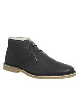 Ask the Missus Fahrenheit Winter Boot BLACK LEATHER