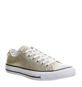Converse All Star Low Leather NEW GOLD